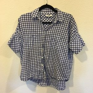Madewell Tops - Madwell courier shirt in gingham check